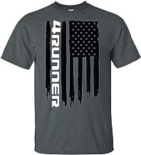 Wheel Spin Addict Men's Toyota 4Runner TRD SR5 USA Flag T-Shirt