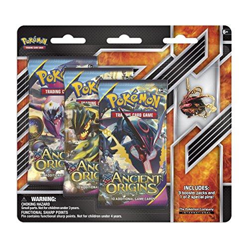 Shiny Mega Rayquaza Pin 3-Pack Blister: Pokémon Trading Card Game
