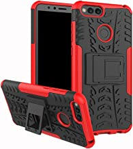 Huawei Honor 7X Case, Huawei Mate SE Case, Linkertech [Shockproof] Tough Rugged Dual Layer Protector Hybrid Case Cover with Kickstand for Huawei Honor 7X / Mate SE