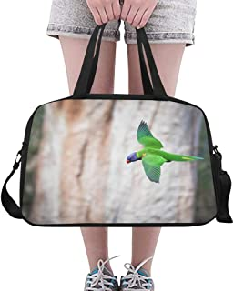 Bag Handbag Flying Bird Prepared For Landing On Yoga Gym Totes Fitness Handbags Duffel Bags Shoe Pouch For Sport Luggage Womens Outdoor Totes For Girls