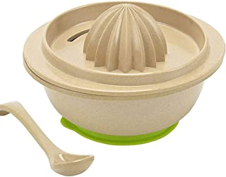 ERTONGHUANBAOCANJU Children's auxiliary food grinder Baby Food Supplement Tool (Color : Green)