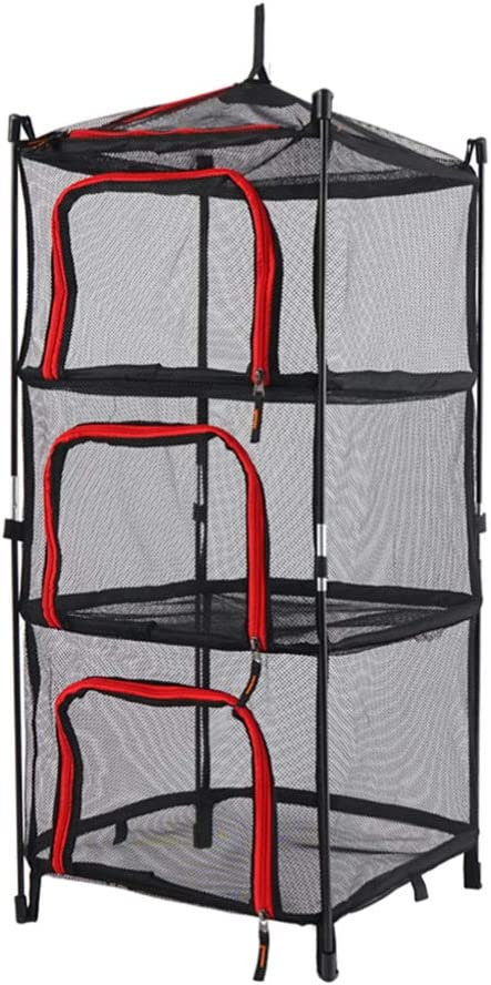 CLISPEED Herb Drying Free shipping / New Rack Net 3 Superior Dr Dryer Mesh Layer Hanging