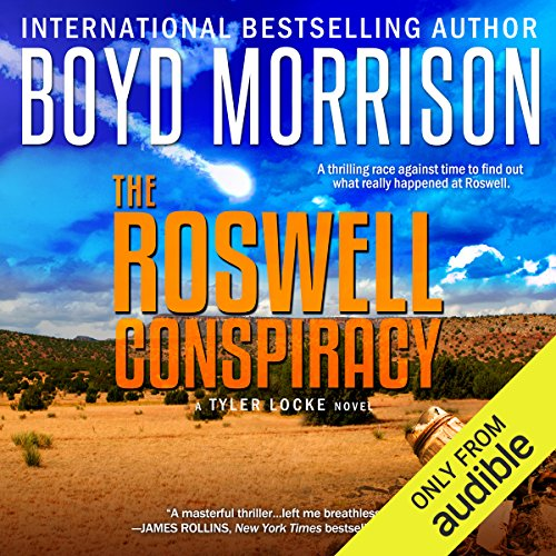 The Roswell Conspiracy audiobook cover art