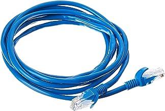 Cabo de Rede Plus Cable PC-ETHU25BL Cat.5E 2.5M Azul Patch Cord - Conectores RJ45 Capa de PVC