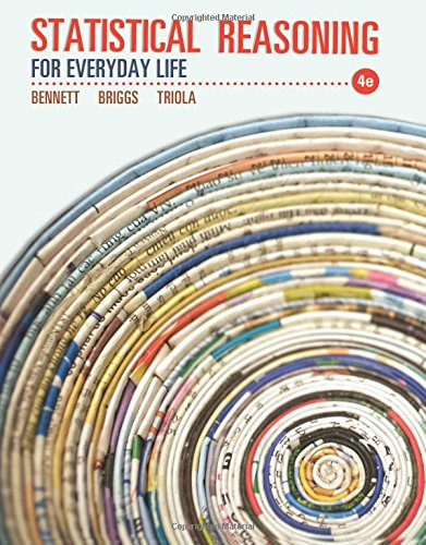 Download Statistical Reasoning for Everyday Life (4th Edition) 0321817621