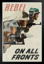 Poster Foundry Rebel On All Fronts Alliance Propaganda Propaganda 14x20 inches Black 180072