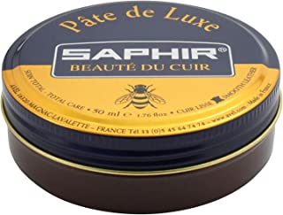 Saphir Pate de Luxe Leather Shoe Polish - Wax Cream for Leather Shoes & Boots
