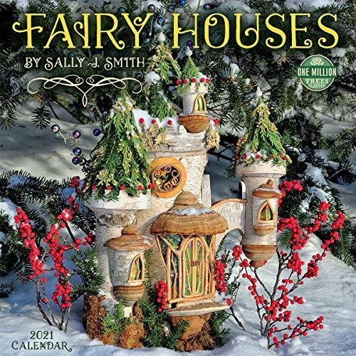 Fairy Houses 2021 Wall Calendar