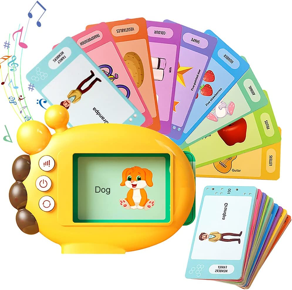 Audible Flash Cards with Sound wi Toddler Import Bargain Learning Effects Toys