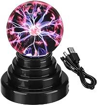 Luce della sfera al plasma Globo USB Night Touch Sensitive Lightning USB / Batteria Creative Magic Decoration per Office Desk, Bambini Bambino Festa Regalo di compleanno Presente Decorazione