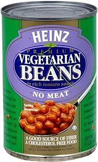 Heinz Vegetarian Bean Tomato Sauce, 16-ounces (Pack of12)