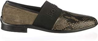 6806 Italian Designer Green Piton Leather Casual Man Shoes