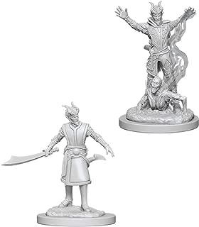WizKids D&D Nolzur's Marvelous Miniatures: Male Tiefling Warlock.