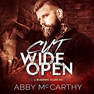 Cut Wide Open     Bleeding Scars MC, Book 1              By:                                                                                                                                 Abby McCarthy                               Narrated by:                                                                                                                                 Crystal Boudet                      Length: 7 hrs and 17 mins     178 ratings     Overall 4.5