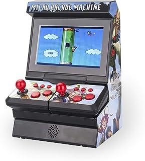 Im Game Mini Arcade Game Machine, Handheld Game Console, 4.3 inch Screen, Dual Wireless Controls, 300 Games, Retro Game Co...