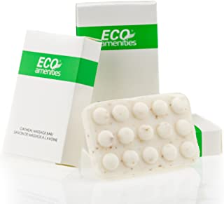 ECO Amenities Spa Paper Box Individually Wrapped 1.5 ounce Oatmeal Massage Soap, 180 Bars per Case