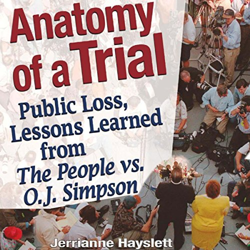 Anatomy of a Trial audiobook cover art