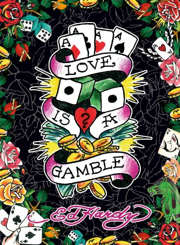 Ravensburger 14640 - Ed Hardy, Love is a Gamble - 500 Teile Puzzle