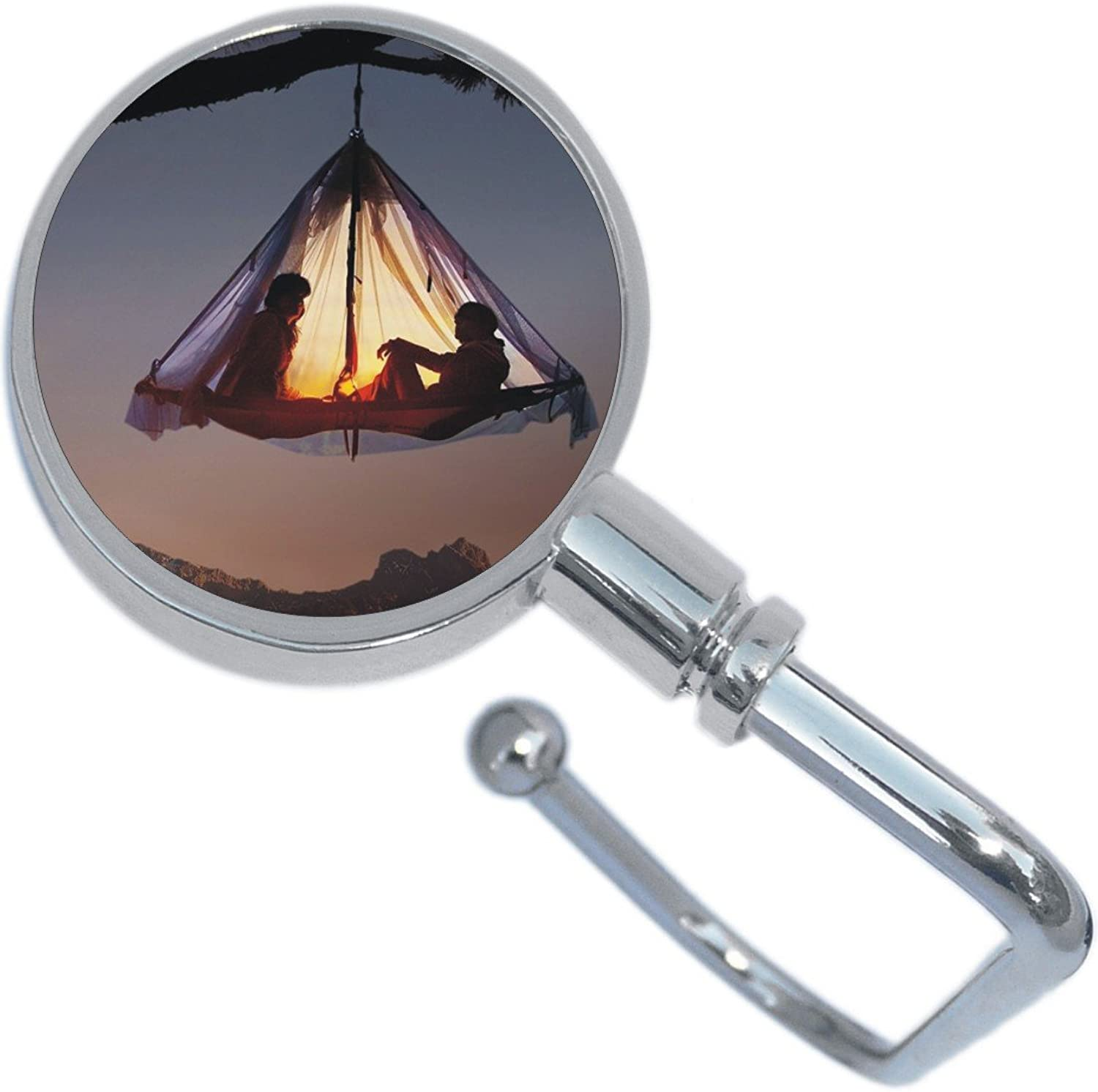 Camping Tent Outdoors Purse Hanger