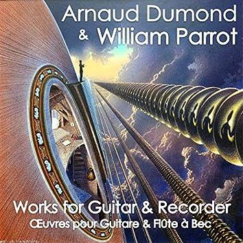 Works for Guitar & Recorder (Œuvres pour Guitare et Flûte à Bec)