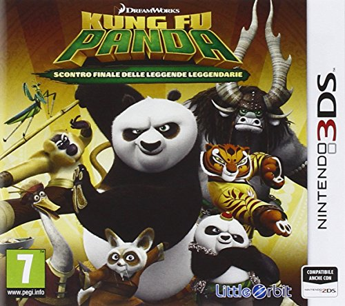 Namco Bandai Games Kung Fu Panda: Showdown of Legendary Legends, 3DS - Juego (3DS, Nintendo 3DS, Little Orbit, Básico, Bandai Namco Entertainment Europe)