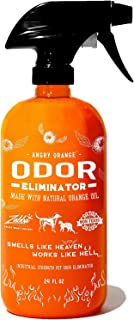ANGRY ORANGE Ready-to-Use Citrus Pet Odor Eliminator Pet Spray – Urine Remover and..