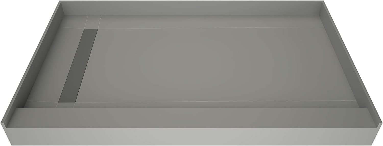 Tile Redi T4872L-SCSDBVZ Shower Pan Kit OFFer Finally resale start Drai with Flashing Left
