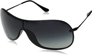 RB4411 Aviator Sunglasses, Demigloss Black/Grey Gradient, 41 mm