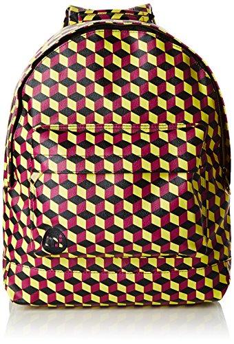 Mi-Pac Gold, Mochila Tipo Casual, 41 cm, 17 litros, Cubic Purpure/Yellow