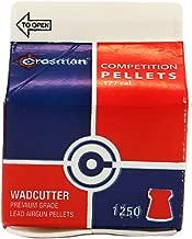 Crosman .177 Cal, 7.4 Grains, Wadcutter, 1250ct