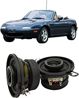 Compatible with Mazda MX-5 Miata 1990-1997 Rear Headrest Factory Replacement HA-R35 Speakers New