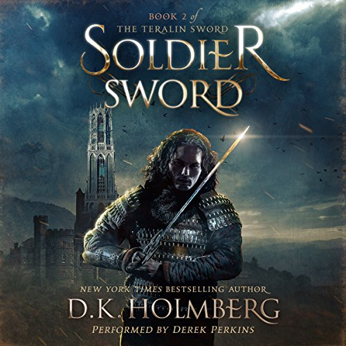 Soldier Sword audiobook cover art