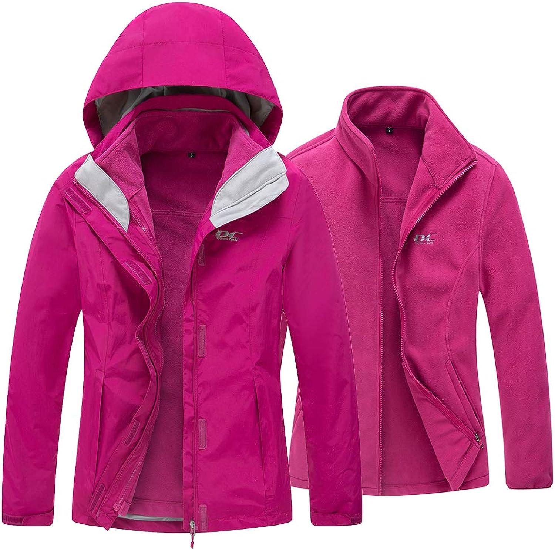Diamond Candy Sportswear Women's Waterproof Jacket Outdoor raincoat Hooded Softshell