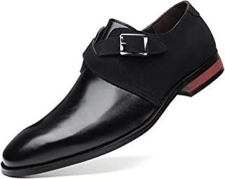 DADAWEN Chaussure Homme Cuir, Derby Mariage Dressing Oxford Casual Business