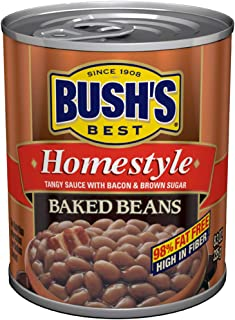 BUSH'S BEST Homestyle Baked Beans, 8.3 Ounce Can (Pack of 12)