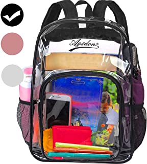 Clear Backpack, 16