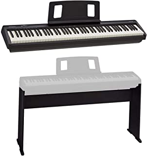 Roland Digital Piano FP-10-BK - With Roland Stand for FP-10 Digital Piano