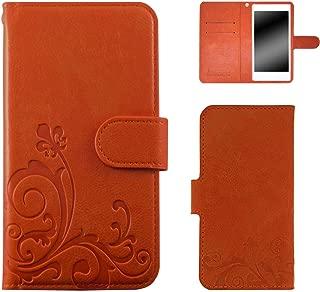 whitenuts 壳 手册式 浮雕设计 智能手机壳 手册WN-OD165226_LL 1_ iPhone7 Plus オレンジ/百合