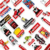 Tinyuet Stickers Pack, 50Pcs-Supreme Refrigerator Stickers, PVC Waterproof Stickers, Car Stickers, Computers, Gifts, Phone, Kids Gifts