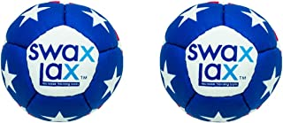 SWAX LAX (2-Pack Lacrosse Training Ball - Same Size and Weight as Regulation Lacrosse Ball but Soft - No Rebounds, Less Bounce