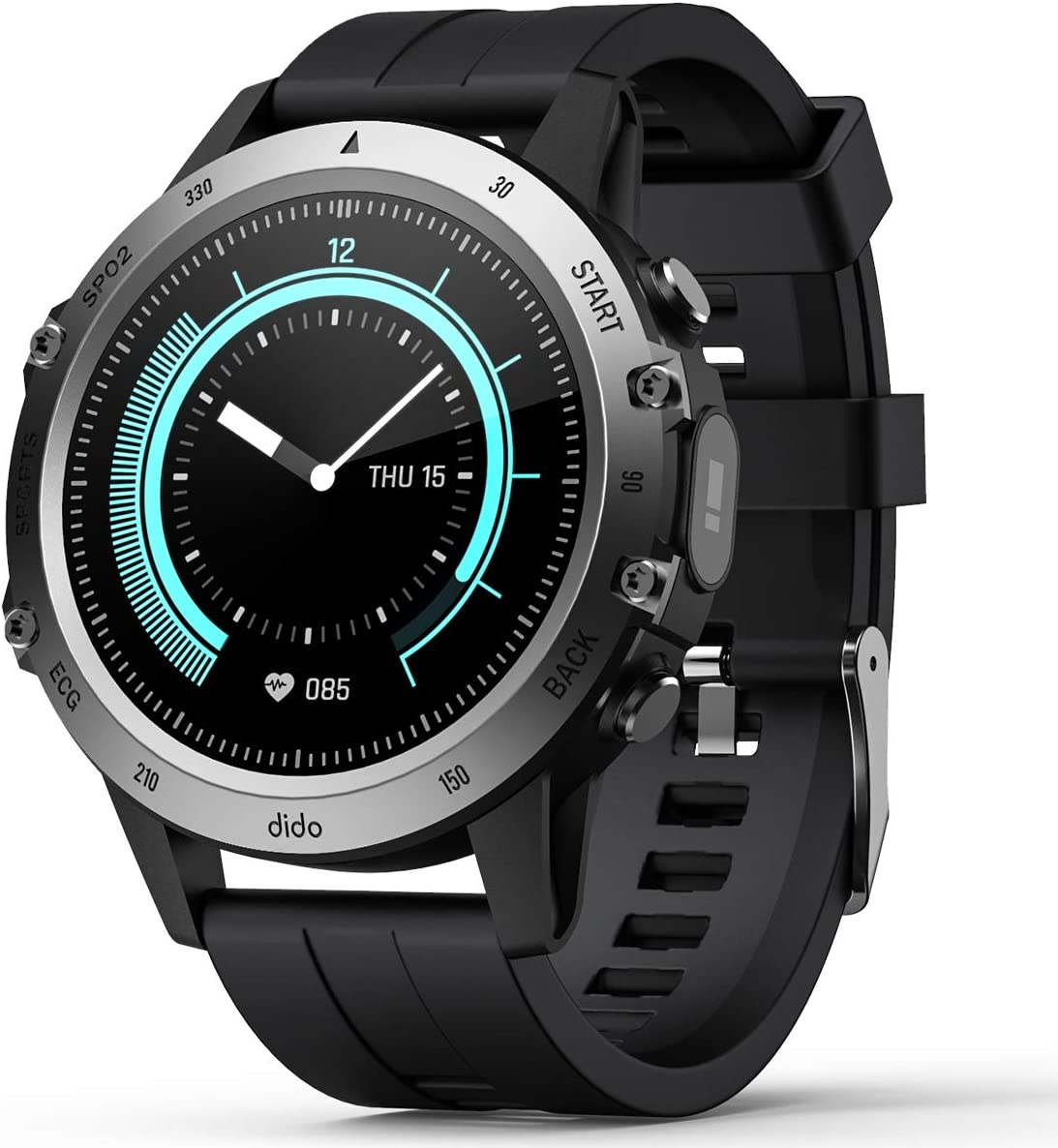 Smart Watch for Android iOS New life Fitness Blood Pressure with Dedication Tracker
