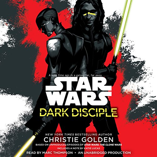 Dark Disciple: Star Wars audiobook cover art