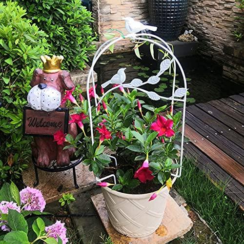 Arbours, Garden arbours, Folding Iron Bird Cage Planter, Wire Flower Pot Basket