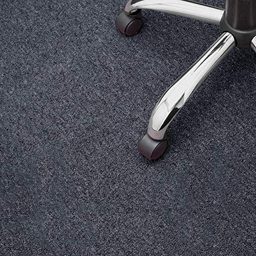 Floori® Nadelfilz Teppich, GUT-Siegel, Emissions- & geruchsfrei, wasserabweisend | Viele Farben & Größen (300x200 cm, anthrazit)