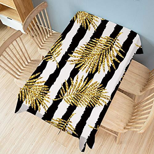 XXDD Mantel Rectangular Creativo Impreso Mantel de Fiesta Cubierta Almohadilla Ropa Impermeable decoración del hogar A7 135x180cm