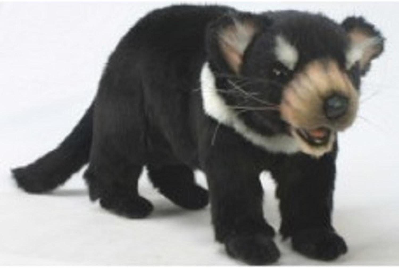 Set of 2 Life-Like Handcrafted Extra Soft plush Tasmanian Devil Baby Stuffed Animals 12.75