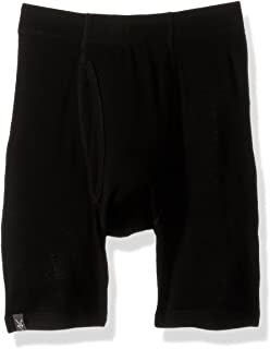 Outdoor Clothing Merino Wool Woolies 1 Boxer Brief, Black, Small