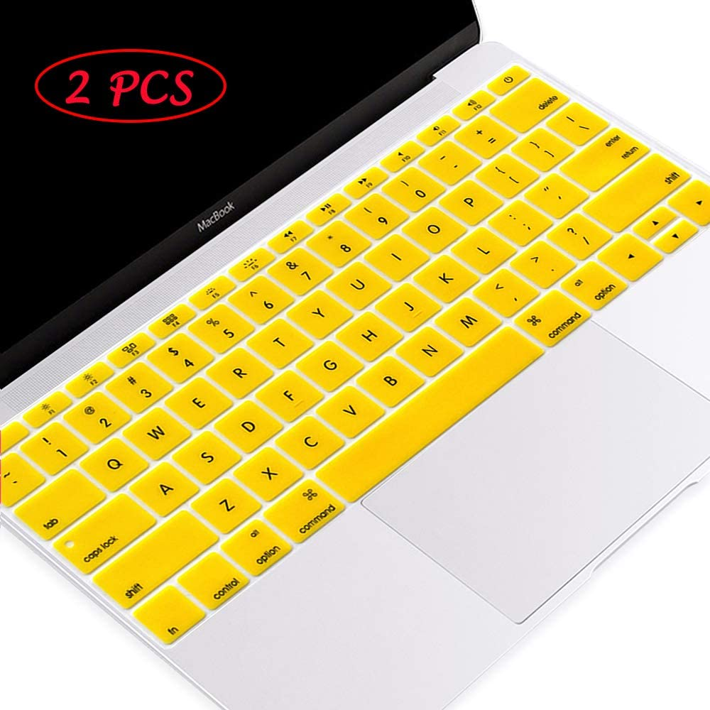 55% OFF Masino 2 PCS Silicone Keyboard Cover Protective Ultra Thin Outlet SALE Ski