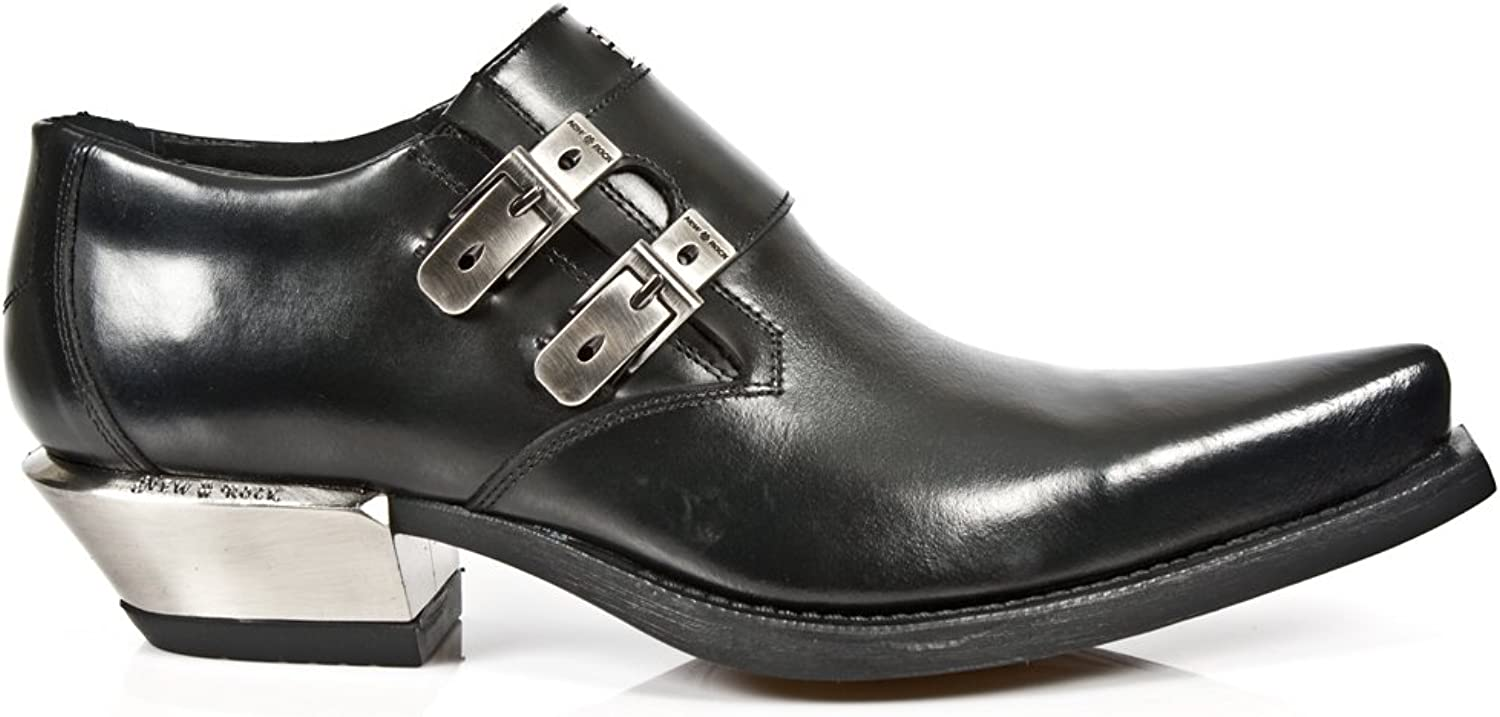 New Rock M.7934-S1 (47) Leather Boots