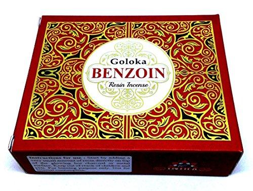 Resina Natural - Benzoin - Caja 50 Gramos -